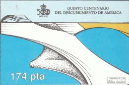 Spanien MH6 (kompl.Ausg.) Postfrisch 1988 Entdeckung Amerikas - Spanien