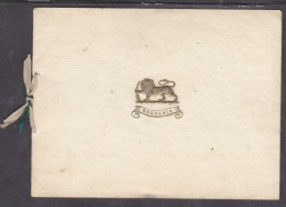 TERRITORIAL FORCE, S. RHODESIA; 1928 Christmas Card, SHANGANI PATROL 1893, RHODESIA REGIMENT 1928 - Army & War