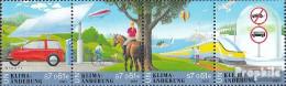 UNO - Wien 346-349 Viererstreifen (kompl.Ausg.) Postfrisch 2001 Klimaänderung - Wien - Internationales Zentrum