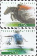 UNO - Wien 441-442 (kompl.Ausg.) Postfrisch 2005 Int. Jahr Sport - Wien - Internationales Zentrum