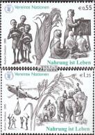UNO - Wien 453-454 (kompl.Ausg.) Postfrisch 2005 Nahrung Ist Leben - Wien - Internationales Zentrum