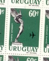 URUGUAY AEREO YVERT NR. 198 MNH AÑOS 1960-1961 - Uruguay