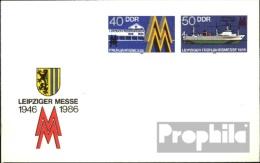 DDR U4 Amtlicher Umschlag Gefälligkeitsgestempelt Gebraucht 1986 Leipziger Messe - [6] República Democrática