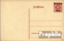 Deutsches Reich DP11 Dienstpostkarte Mit Zusatzfrankatur Gebraucht 1920 Dienstpostkarte - Alemania