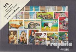 Äquatorialguinea 150 Verschiedene Marken - Äquatorial-Guinea