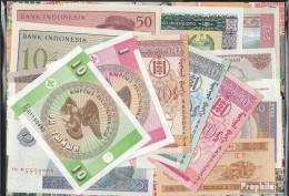 Asien 20 Verschiedene Banknoten  Aus Asien - Briefmarken