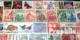 Dänemark 50 Verschiedene  Sondermarken Und Großformate - Dinamarca