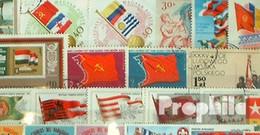 Motive 100 Verschiedene Flaggen Und Wappen Marken - Flaggen