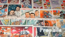 Motive 100 Verschiedene Weltraum Und Raketen Marken - Collections