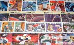 Motive 150 Verschiedene Weltraum Und Raketen Marken - Collections