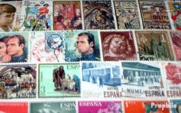 Spanien 100 Verschiedene Sondermarken - Spanien