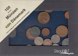 Dänemark 100 Gramm Münzkiloware - Münzen & Banknoten