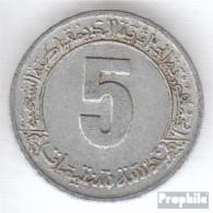 Algerien KM-Nr. : 113 1980 Sehr Schön Aluminium Sehr Schön 1980 5 Centimes Fünfjahrplan - Algerien