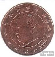 Belgien B 3 2005 Stgl./unzirkuliert Stgl./unzirkuliert 2005 Kursmünze 5 Cent - Belgio