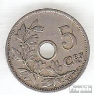 Belgien KM-Nr. : 47 1902 Sehr Schön Kupfer-Nickel Sehr Schön 1902 5 Centimes Gekröntes Monogramm - 1865-1909: Leopold II