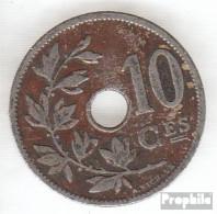 Belgien KM-Nr. : 48 1901 Sehr Schön Kupfer-Nickel Sehr Schön 1901 10 Centimes Gekröntes Monogramm - 1865-1909: Leopold II