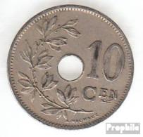 Belgien KM-Nr. : 49 1903 Sehr Schön Kupfer-Nickel Sehr Schön 1903 10 Centimes Gekröntes Monogramm - 1865-1909: Leopold II