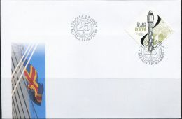 PA1480 Aland 2009 Pillar And Maps First-day Cover MNH - Aland