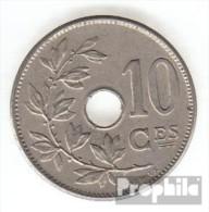 Belgien KM-Nr. : 52 1906 Sehr Schön Kupfer-Nickel Sehr Schön 1906 10 Centimes Gekröntes Monogramm - 1865-1909: Leopold II