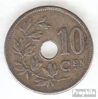 Belgien KM-Nr. : 53 1905 Vorzüglich Kupfer-Nickel Vorzüglich 1905 10 Centimes Gekröntes Monogramm - 1865-1909: Leopold II