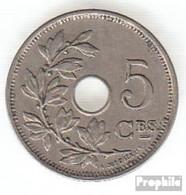 Belgien KM-Nr. : 66 1928 Vorzüglich Kupfer-Nickel Vorzüglich 1928 5 Centimes Gekröntes Monogramm - 03. 5 Centimes