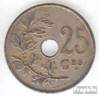 Belgien KM-Nr. : 68 1913 Sehr Schön Kupfer-Nickel Sehr Schön 1913 25 Centimes Gekröntes Monogramm - 1909-1934: Albert I.