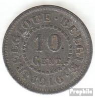 Belgien KM-Nr. : 81 1915 Sehr Schön Zink Sehr Schön 1915 10 Centimes Deutsche Besetzung I. W - 04. 10 Centimes