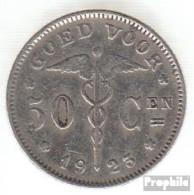 Belgien KM-Nr. : 88 1928 Sehr Schön Nickel Sehr Schön 1928 50 Centimes Knieende Allegorie - 1909-1934: Albert I.