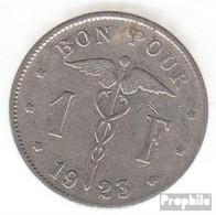 Belgien KM-Nr. : 89 1928 Sehr Schön Nickel Sehr Schön 1928 1 Franc Knieende Allegorie - 1909-1934: Albert I.