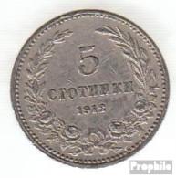 Bulgarien KM-Nr. : 24 1913 Vorzüglich Kupfer-Nickel Vorzüglich 1913 5 Stotinki Wappen - Bulgarien