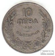 Bulgarien KM-Nr. : 40 1930 Sehr Schön Kupfer-Nickel Sehr Schön 1930 10 Leva Reiter - Bulgarien