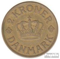 Dänemark KM-Nr. : 825 1926 Sehr Schön Aluminium-Bronze Sehr Schön 1926 2 Kroner Gekröntes Monogramm - Dänemark
