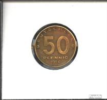 DDR Jägernr: 1504 1950 A Sehr Schön Aluminium-Bronze Sehr Schön 1950 50 Pfennig Pflug Vor Hüttenwerk - [ 6] 1949-1990 : GDR - German Dem. Rep.