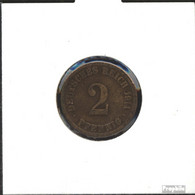Deutsches Reich Jägernr: 11 1916 A Vorzüglich Bronze Vorzüglich 1916 2 Pfennig Großer Reichsadler - [ 2] 1871-1918: Deutsches Kaiserreich