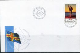PA1485 Aland 2009 Runners First-day Cover MNH - Aland