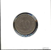 Deutsches Reich Jägernr: 13 1912 E Sehr Schön Kupfer-Nickel Sehr Schön 1912 10 Pfennig Großer Reichsadler - 10 Pfennig