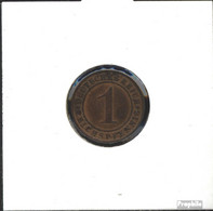 Deutsches Reich Jägernr: 313 1925 A Vorzüglich Bronze Vorzüglich 1925 1 Reichspfennig Ährengarbe - [ 3] 1918-1933 : Weimar Republic