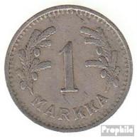Finnland KM-Nr. : 30 1928 Sehr Schön Kupfer-Nickel Sehr Schön 1928 1 Markka Löwe - Finnland