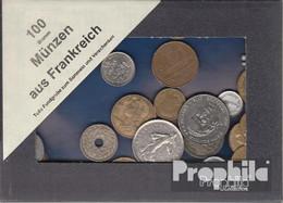 Frankreich 100 Gramm Münzkiloware - Coins & Banknotes