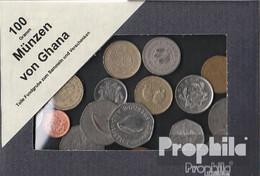 Ghana 100 Gramm Münzkiloware - Münzen & Banknoten