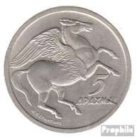 Griechenland KM-Nr. : 109 1973 Stgl./unzirkuliert Kupfer-Nickel Stgl./unzirkuliert 1973 5 Drachmen Pegasus - Griechenland
