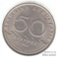 Griechenland KM-Nr. : 134 1982 Stgl./unzirkuliert Kupfer-Nickel Stgl./unzirkuliert 1982 50 Drachmen Solon - Grèce