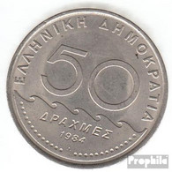 Griechenland KM-Nr. : 134 1982 Stgl./unzirkuliert Kupfer-Nickel Stgl./unzirkuliert 1982 50 Drachmen Solon - Griechenland