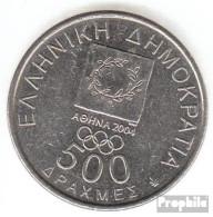 Griechenland KM-Nr. : 176 2000 Vorzüglich Kupfer-Nickel Vorzüglich 2000 500 Drachmen Olympisches Feuer - Griechenland