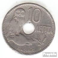 Griechenland KM-Nr. : 63 1912 Sehr Schön Nickel Sehr Schön 1912 10 Lepta Krone - Grèce