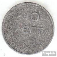 Griechenland KM-Nr. : 66 1922 Sehr Schön Aluminium Sehr Schön 1922 10 Lepta Krone - Griechenland