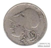 Griechenland KM-Nr. : 68 1926 B Sehr Schön Kupfer-Nickel Sehr Schön 1926 50 Lepta Athene - Griechenland