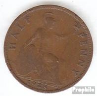 Großbritannien KM-Nr. : 837 1928 Sehr Schön Bronze Sehr Schön 1928 1/2 Penny George V. - C. 1/2 Penny