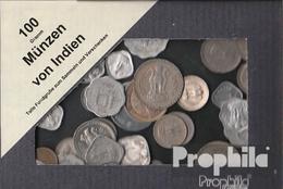Indien 100 Gramm Münzkiloware - Münzen & Banknoten
