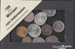 Indonesien 100 Gramm Münzkiloware - Coins & Banknotes